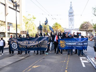 Workers Marched and Rallied to Demand Protections on May Day