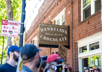 Dandelion Chocolate Workers and Supporters Rallied After Recent Layoffs