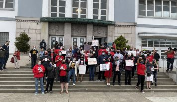 San Francisco Teachers Organized Walk-In to Demand More Safety at Schools
